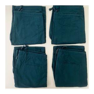 4 Pairs of Cargo Scrub Pants